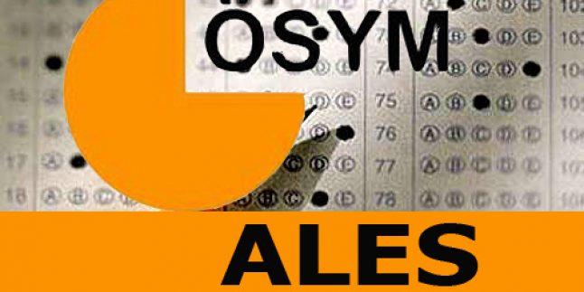 2015 ALES Başvuru ve Sınav Tarihleri