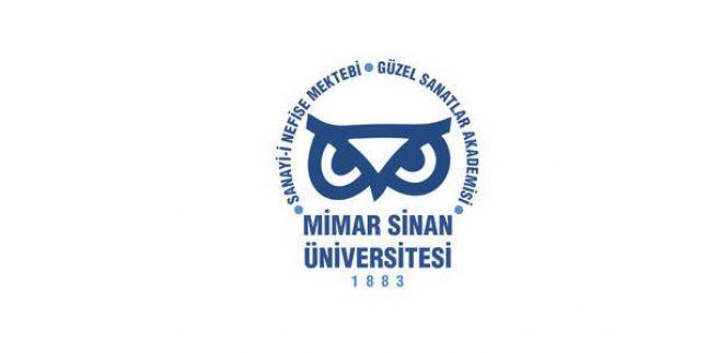 Mimar Sinan Güzel Sanatlar Üniversitesi Formasyon 2015