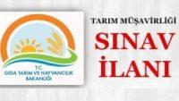 Gıda Tarım ve Hayvancılık Bakanlığı Sınav İlanı