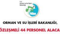 Orman ve Su İşleri Bakanlığı Alım İlanı