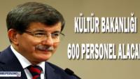 Kültür Bakanlığı'na Personel Alınacak