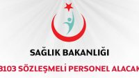 Sağlık Bakanlığı 3103 Sözleşmeli Personel Alacak SON GÜN 18 NİSAN