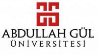 Abdullah Gül Üniversitesi İlanı