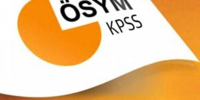 KPSS'ye girecek adaylar