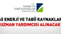 Enerji ve Tabii Kaynaklar Bakanlığında Alım