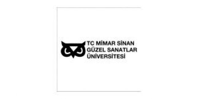 Mimar Sinan Güzel Sanatlar Üniversitesi İlanı