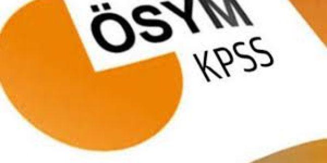 KPSS Öğretmen Alan Bilgisi Sınavı Yarın