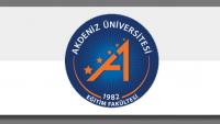 Akdeniz Üniversitesi 2016 2. Yedek Formasyon Kazananlar