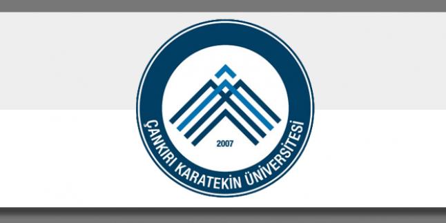 Çankırı Karatekin Üniversitesi 2016 Güz Formasyon Duyurusu