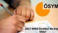 KPSS Ücretleri Değiştirildi