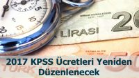 KPSS Ücretleri Değişecek