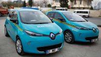 Elektrikli Taksiler Geliyor